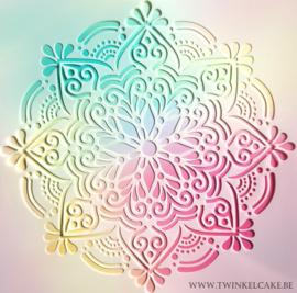 Stencil Mandala #1