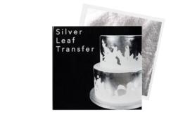 Bladzilver eetbaar - Sugarflair Silver Leaf Transfer