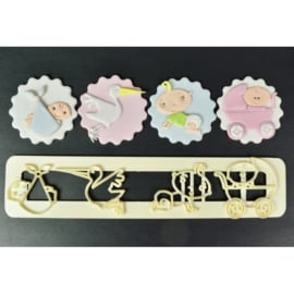 FMM Adorable Baby Cutter set 4 st.