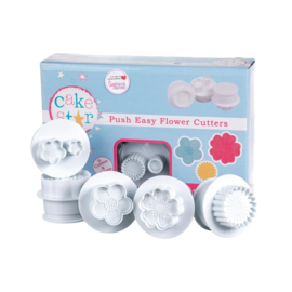 Cake Star Push Easy Flowers set 6 st