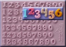 Set 6 cijfers 12 mm