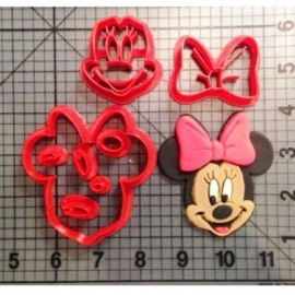 Uitsteker Minnie Mouse 5cm