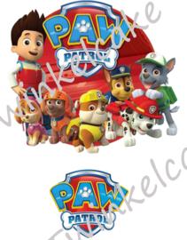 Imprimé comestible Pat Patrouille 1