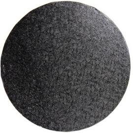 Cake drum Black rond 25 cm par 5 pcs