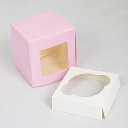 Cupcake doosje 1 cc