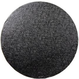 Cake drum Black rond 30 cm par 5 st