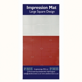 PME Impression mat Square Large