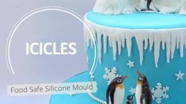 Katy Sue Icicles (ijskegels) silicone mould