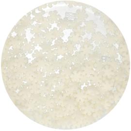 Strooisel Sneeuwvlokjes wit