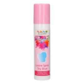 Lustre Spray Sky Blue Metallic (Funcakes) - 100 ml