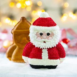 Kerstman 3D bakvorm