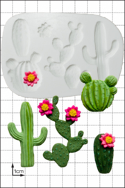 FPC Cactus silicone mould