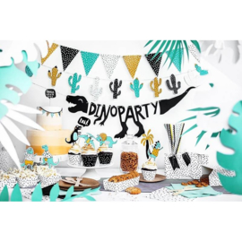 Paper Garland Dinosaur Party