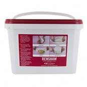 Renshaw Extra White rolled fondant  10 Kg (4x2.5kg)