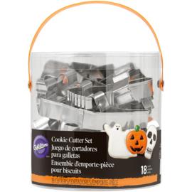 Halloween Cutter metallic 18 st (wilton)