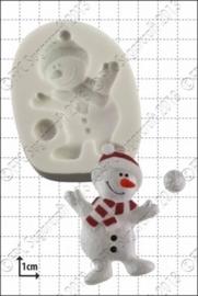 siliconen mal -dancing snowman-