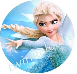 Taartprint Elsa 3
