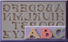 Vintage Font hoofdletters