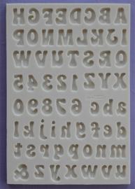 Fun Font Small set (hoofd- en kleine letters + cijfers)