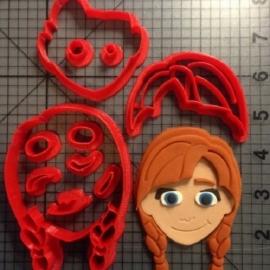Uitsteker Frozen Anna 5cm