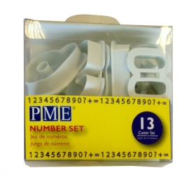 PME Number set 13 st