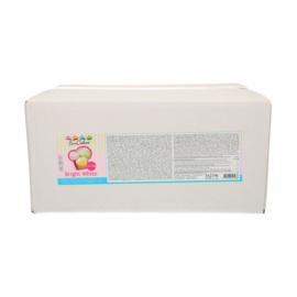 Suikerpasta Bright White (hagelwit) 12.5 Kg (5 x 2.5 kg)
