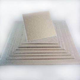Cake board Silver vierkant  30 cm