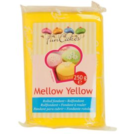 Rolled fondant Mellow Yellow 250 gr