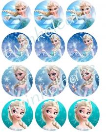 Cupcakeprint Elsa