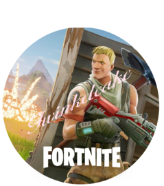 Fortnite taartprint 1