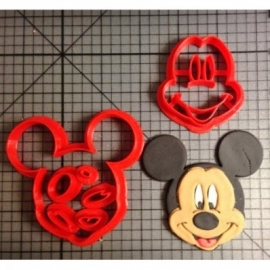 Uitsteker Mickey Mouse 5cm