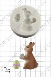 FPC Easter Bunny siclicone mould