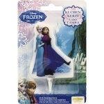 Frozen taartkaars Elza en Anna 2D
