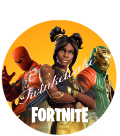 Fortnite taartprint 3