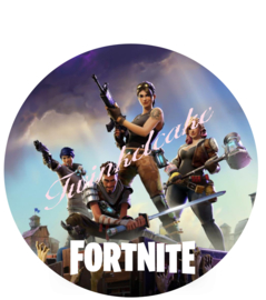 Fortnite taartprint 2