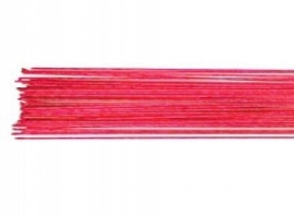 Floral Wire Metallic Red 24 Gauge