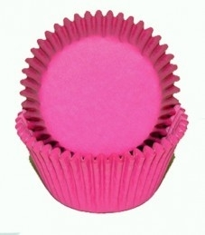 Cake cups  Fuchsia roze House of Marie - 50 st