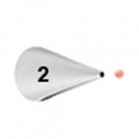 Wilton Icing tip #002 Round