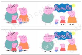 Taartband peppa  pig 1