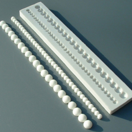 Plain Beads (parelketting) Alphabet Moulds