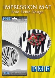 PME Impression mat Zebra Bold