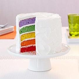 Wilton Cake Pan Easy Layers (regenboog) 15 cm set 5 st