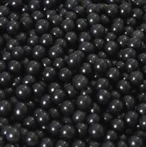 Suikerparels Zwart