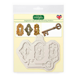 Katy Sue Locks & Keys silicone mould