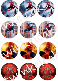 Cupcakeprint Spiderman