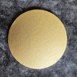 Cake drum rond licht goud  20 cm