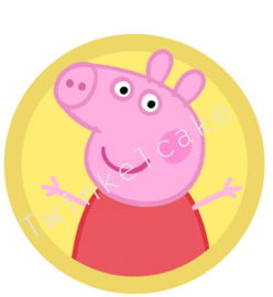 Taartprint peppa 1