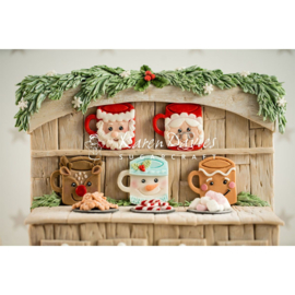 Karen Davies Festive Mugs mould