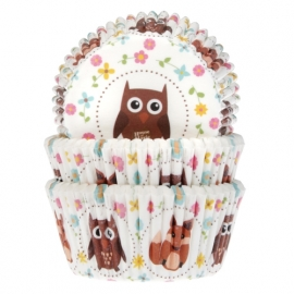 Cake Cups Uil en vos-House of Marie