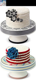 Taartplateau (cake pedestal customizable) Wilton